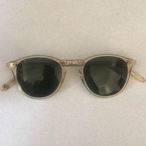 Garret Leight Hampton Ch Sunglasses